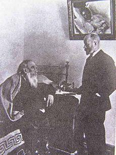 Tolstoy and Dushan Makovitsky