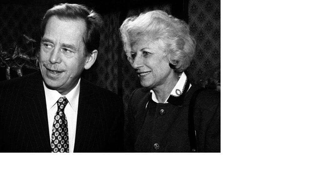 Havel s Oľgou
