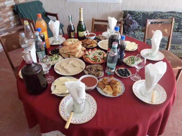 Gruzínska pohostinnosť