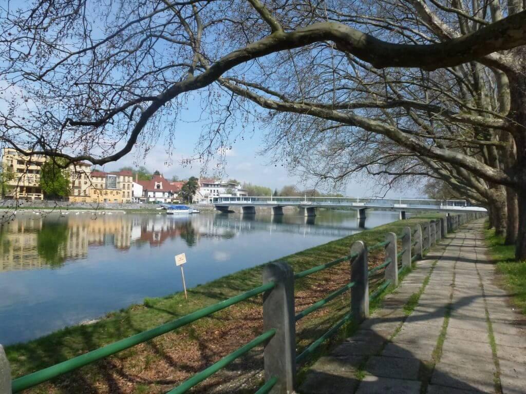 Pohľad na Sklený most