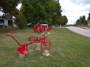 Stroje v parku 1