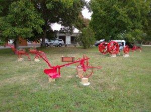 Stroje v parku 2